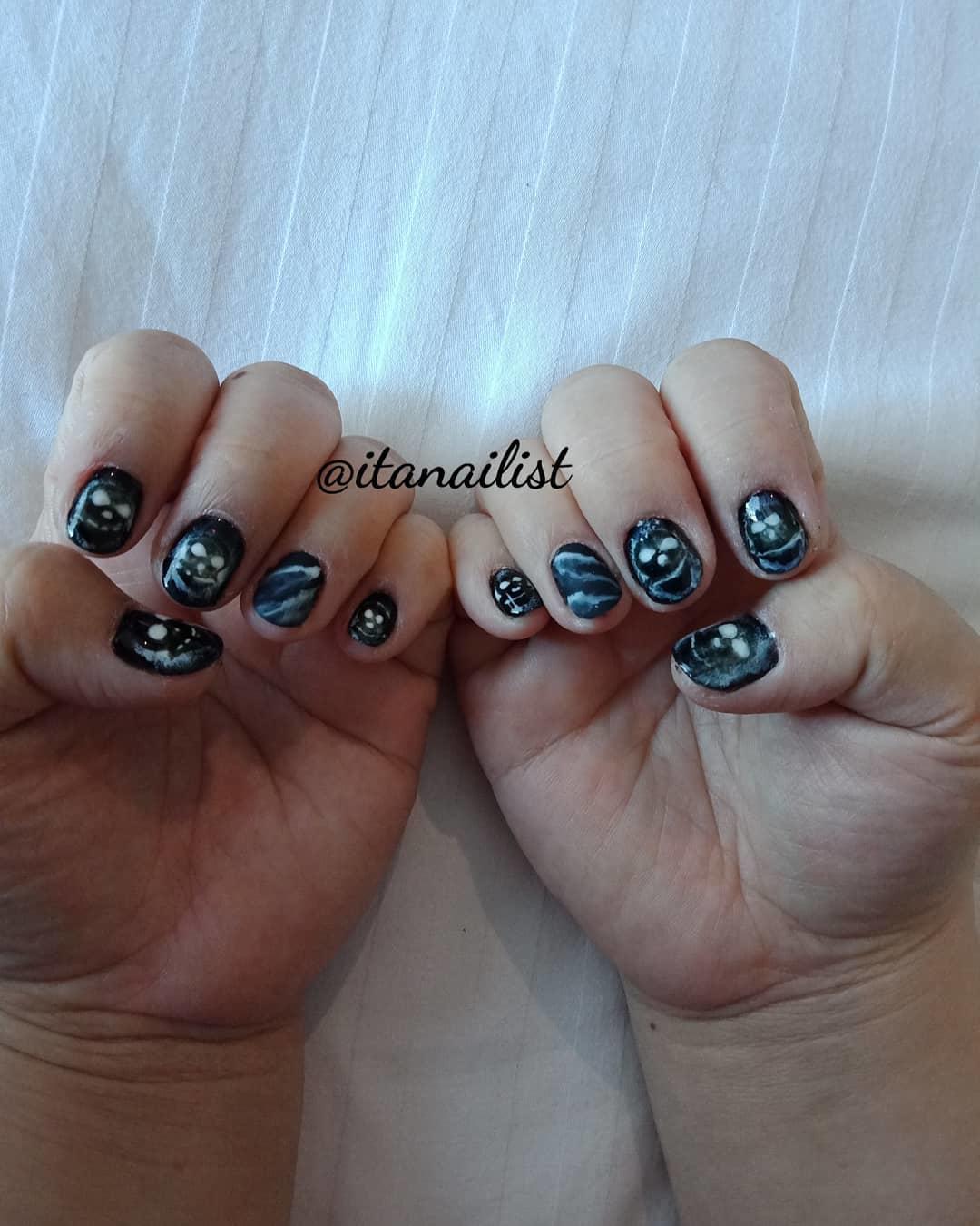 fake nail designs 15 - DIY Easy Fake Nails That Last Three Weeks & Fake Nail Designs