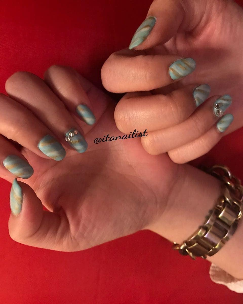 fake nail designs 4 - DIY Easy Fake Nails That Last Three Weeks & Fake Nail Designs