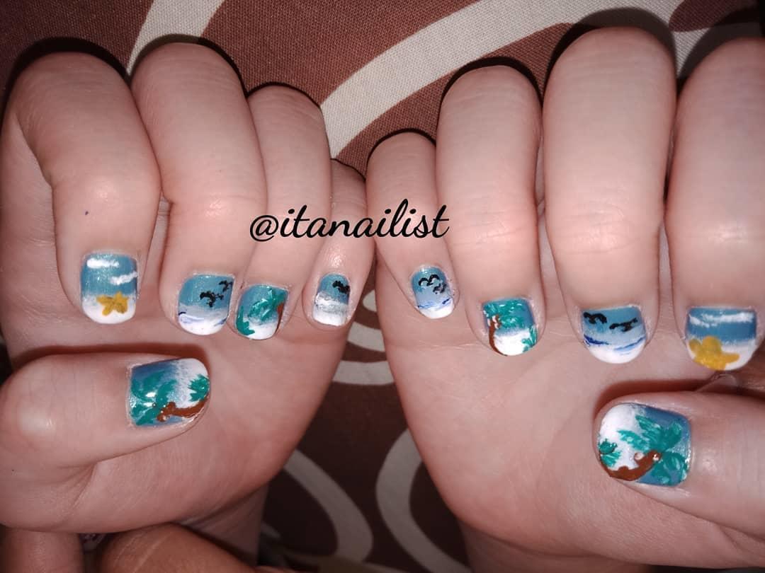 fake nail designs 8 - DIY Easy Fake Nails That Last Three Weeks & Fake Nail Designs