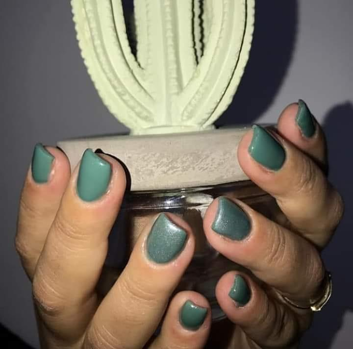 green nail art ideas and designs for 2019 12 - 17 Green Nail Art Ideas and Designs for 2019
