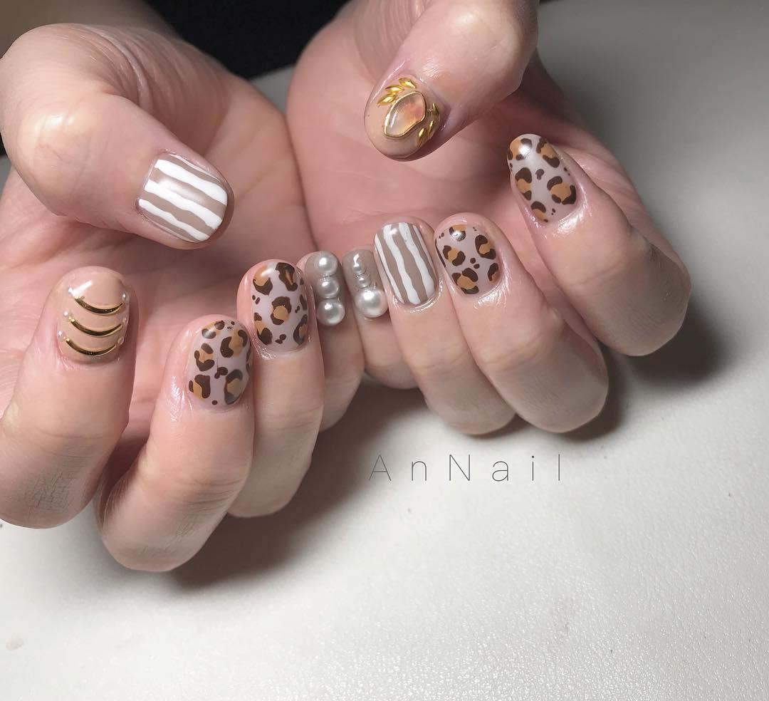 inspiring winter nail designs 2019 1 - Inspiring Winter Nail Designs 2019