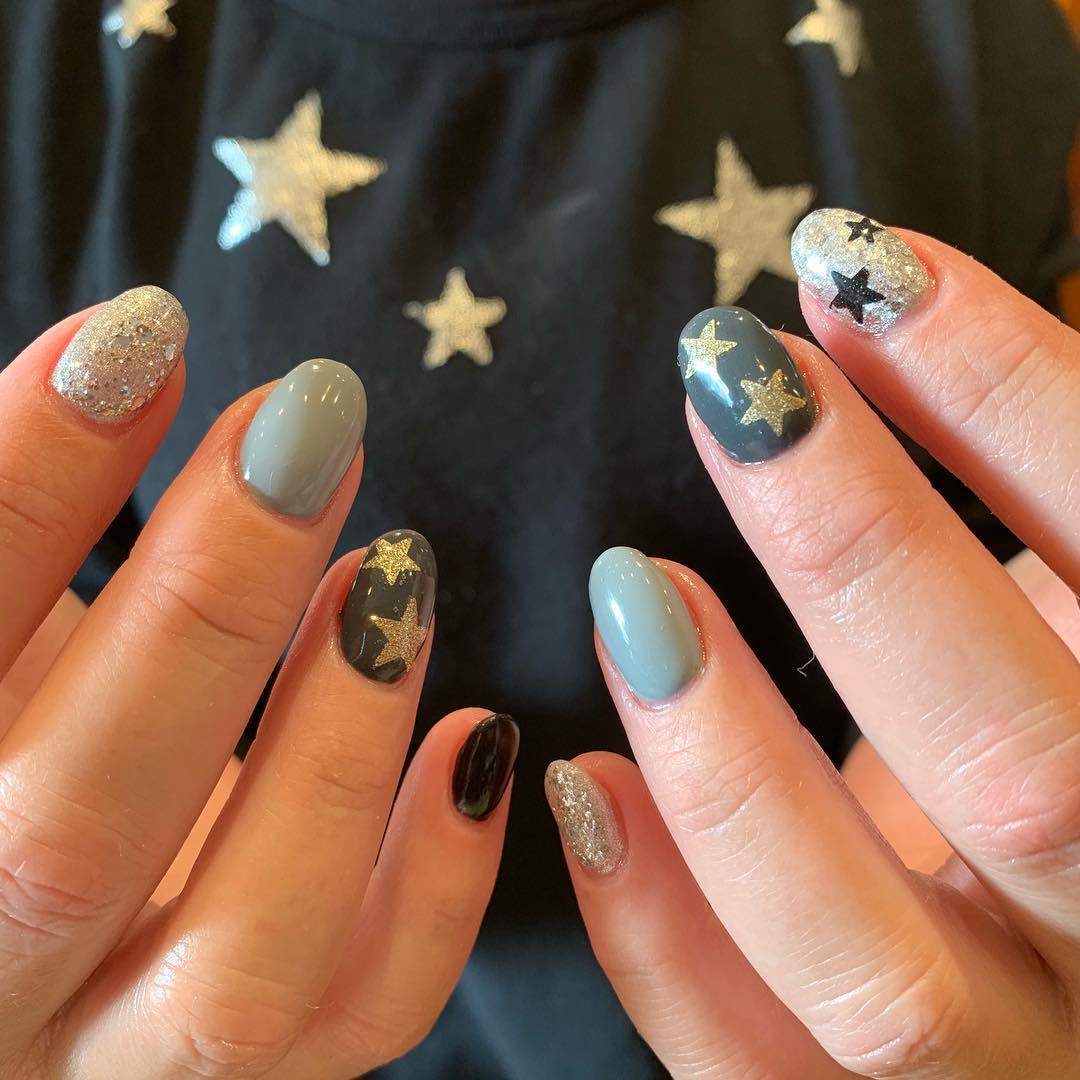 inspiring winter nail designs 2019 12 - Inspiring Winter Nail Designs 2019