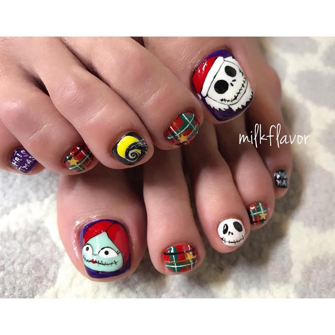 inspiring winter nail designs 2019 14 - Inspiring Winter Nail Designs 2019