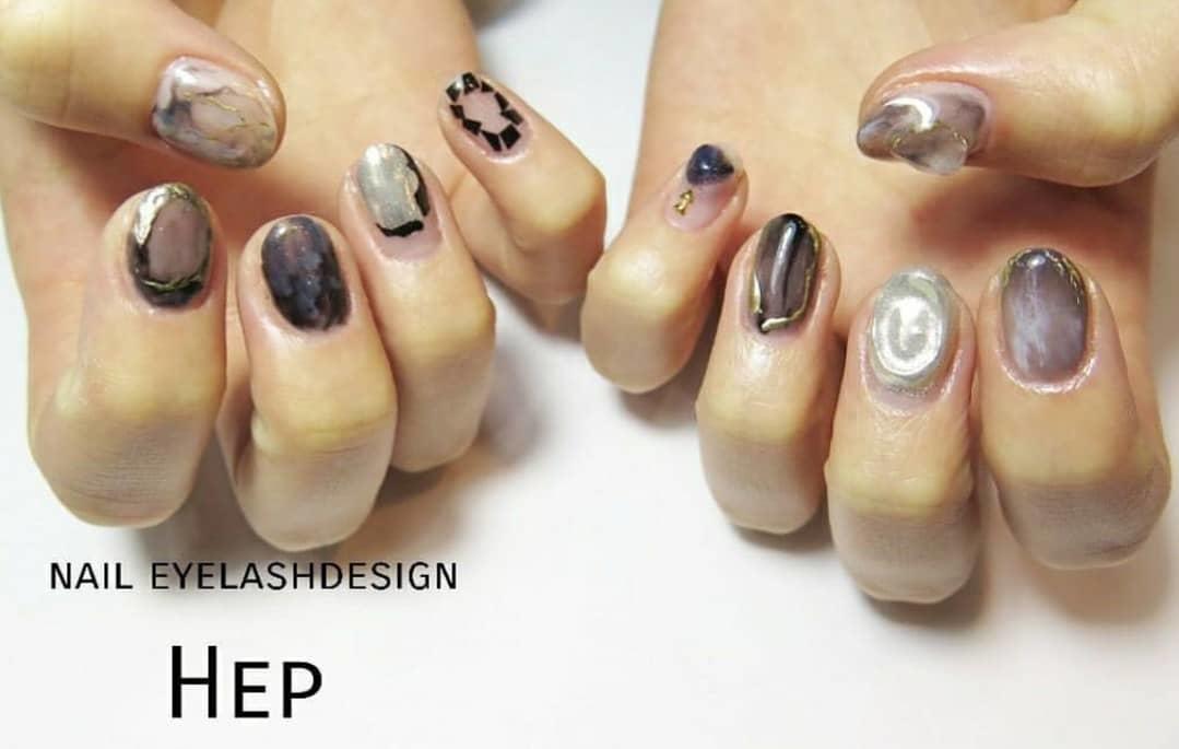 inspiring winter nail designs 2019 18 - Inspiring Winter Nail Designs 2019