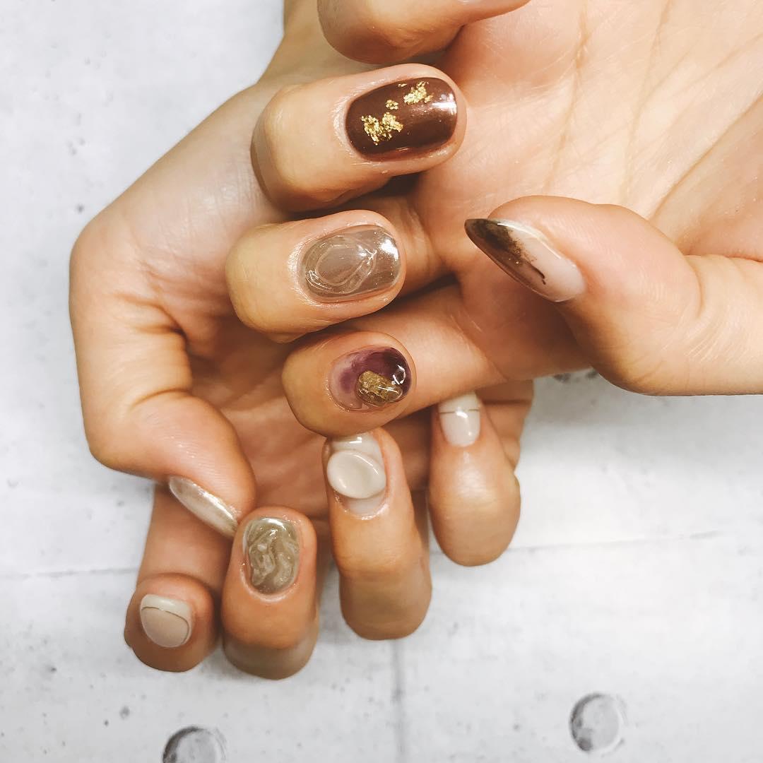 inspiring winter nail designs 2019 19 - Inspiring Winter Nail Designs 2019
