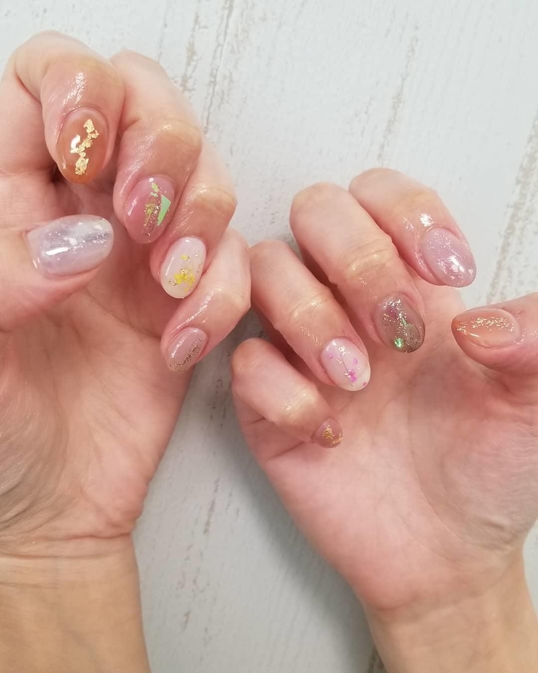 inspiring winter nail designs 2019 20 - Inspiring Winter Nail Designs 2019
