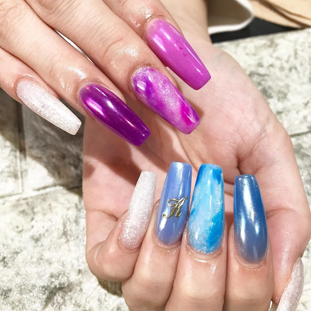 inspiring winter nail designs 2019 23 - Inspiring Winter Nail Designs 2019