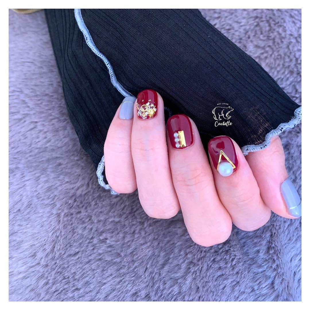 inspiring winter nail designs 2019 25 - Inspiring Winter Nail Designs 2019
