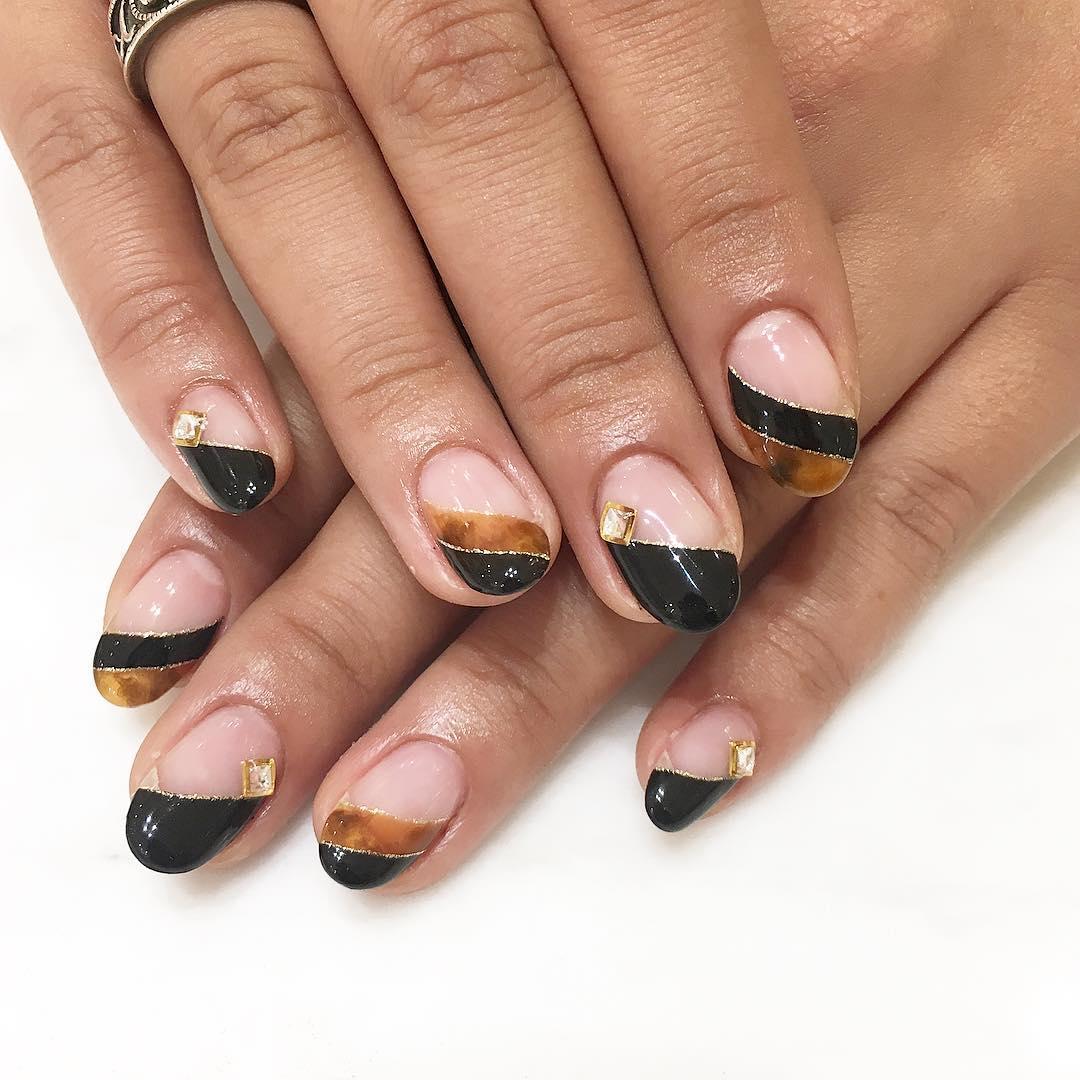 inspiring winter nail designs 2019 26 - Inspiring Winter Nail Designs 2019