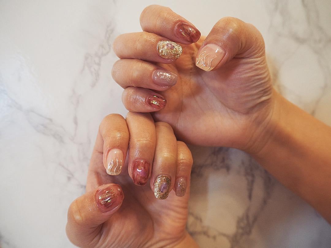 inspiring winter nail designs 2019 4 - Inspiring Winter Nail Designs 2019