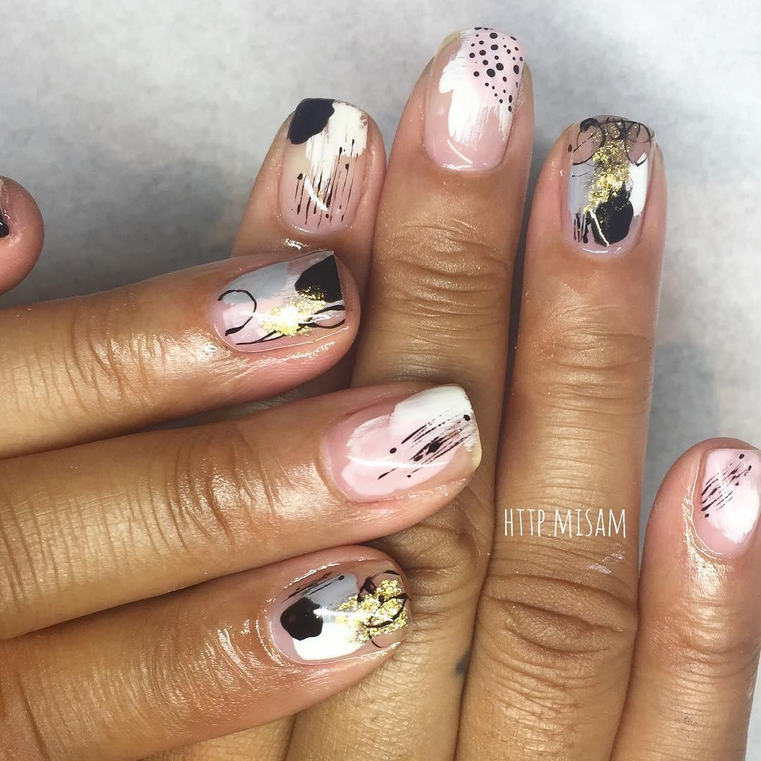 inspiring winter nail designs 2019 6 - Inspiring Winter Nail Designs 2019