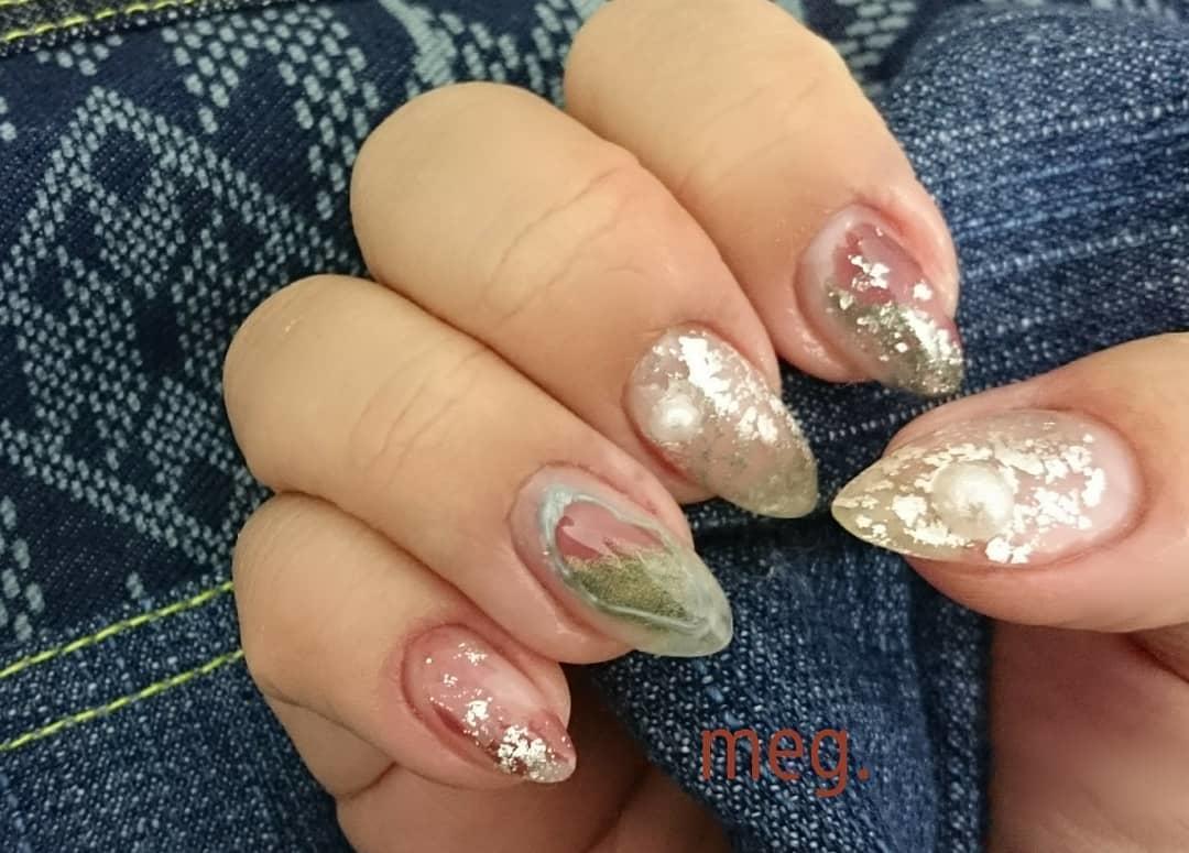 inspiring winter nail designs 2019 - Inspiring Winter Nail Designs 2019