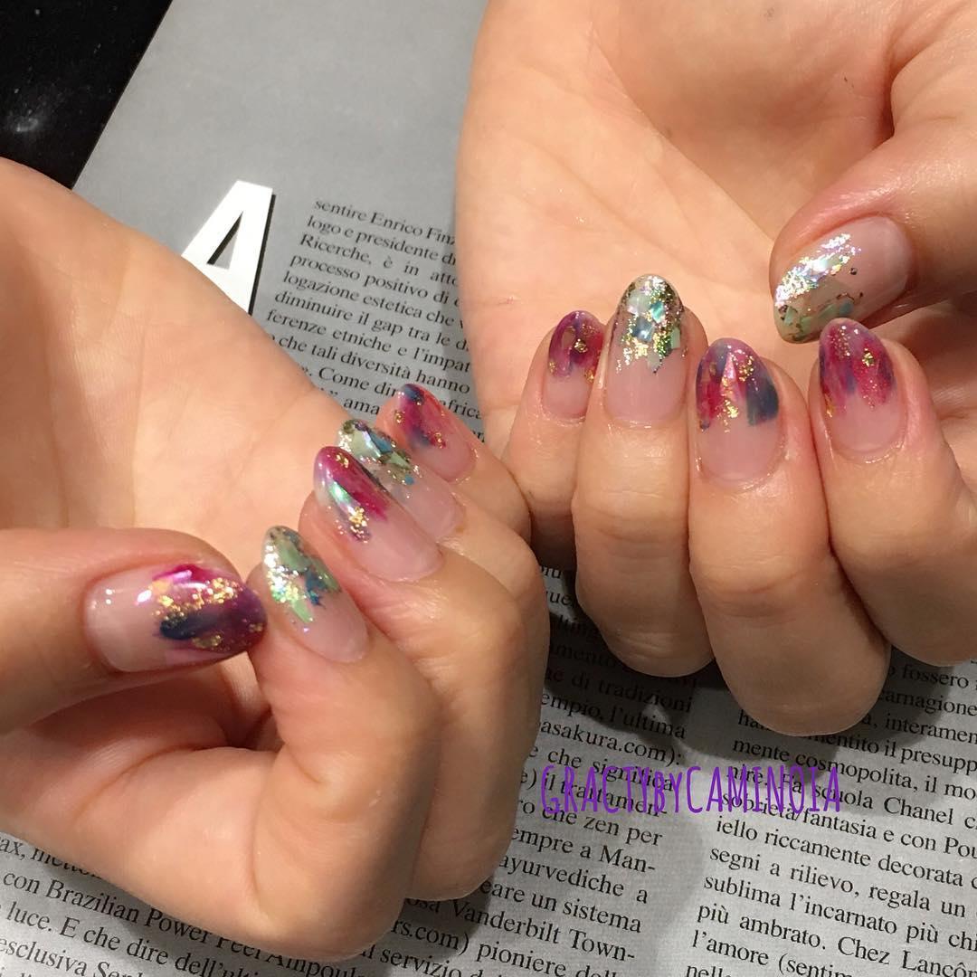 latest shellac nail designs 2019 2 - 14 Latest Shellac Nail Designs 2019