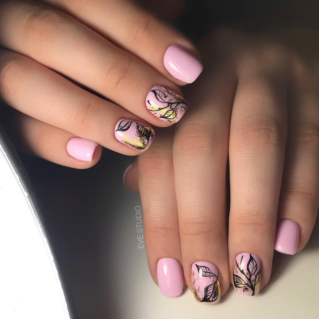 latest shellac nail designs 2019 3 - 14 Latest Shellac Nail Designs 2019