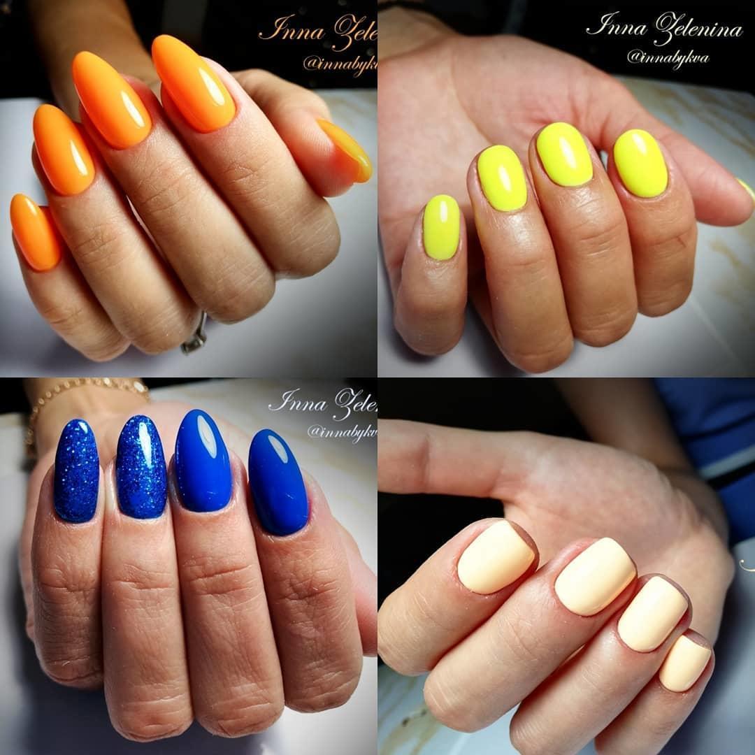 latest shellac nail designs 2019 4 - 14 Latest Shellac Nail Designs 2019