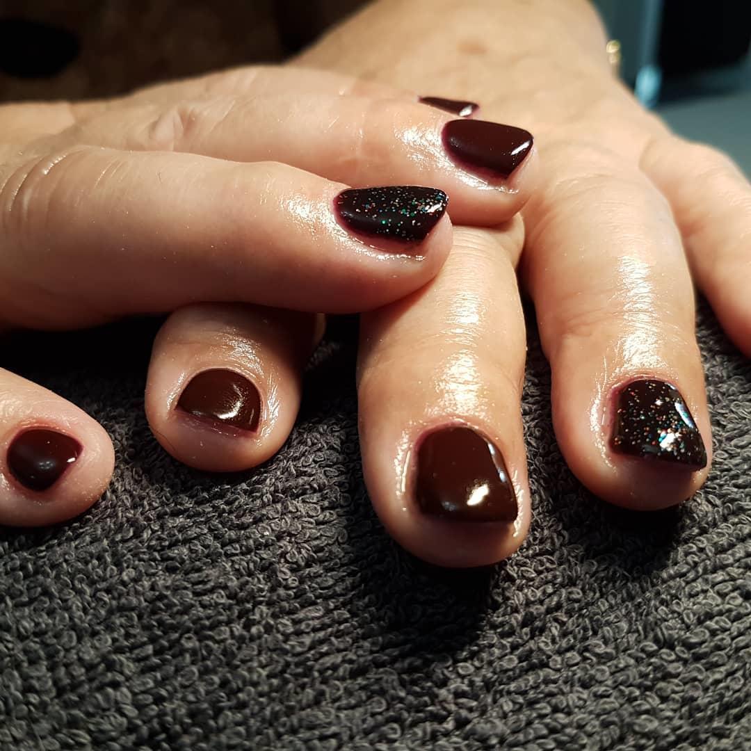 latest shellac nail designs 2019 7 - 14 Latest Shellac Nail Designs 2019