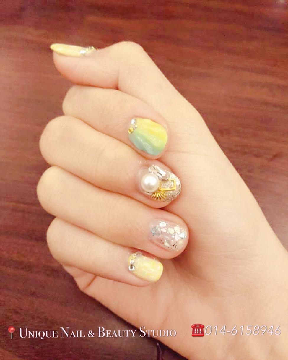 popular unique nail designs 2019 10 - Popular Unique Nail Designs 2019