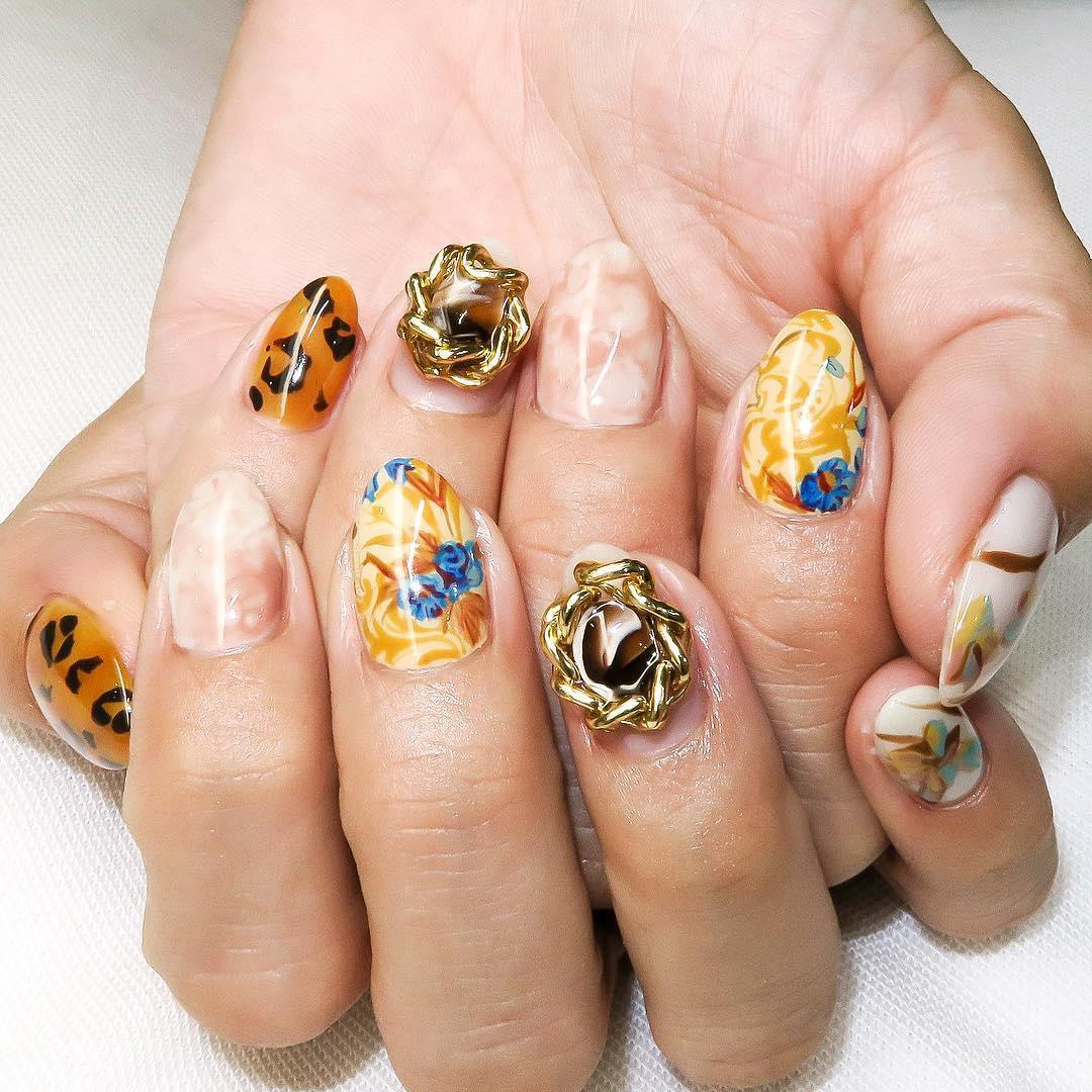 popular unique nail designs 2019 12 - Popular Unique Nail Designs 2019