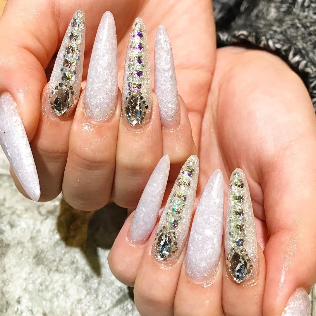 pretty spring nail art designs 1 - Pretty Spring Nail Art Designs 2019