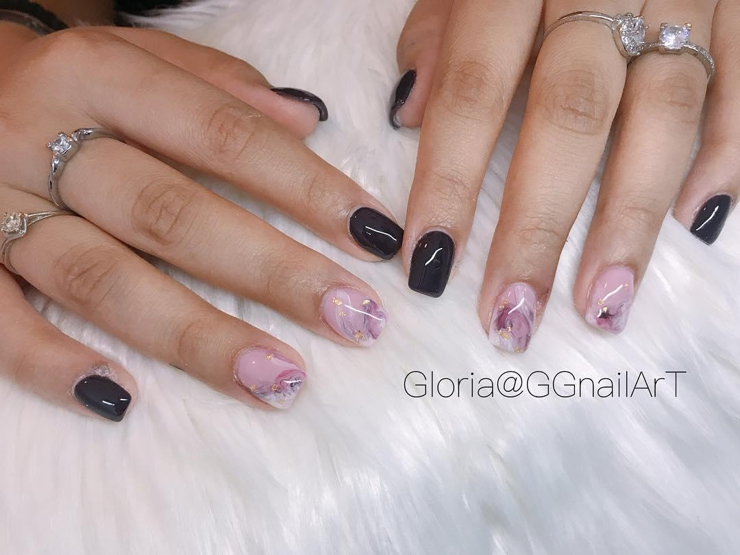 pretty spring nail art designs 11 - Pretty Spring Nail Art Designs 2019