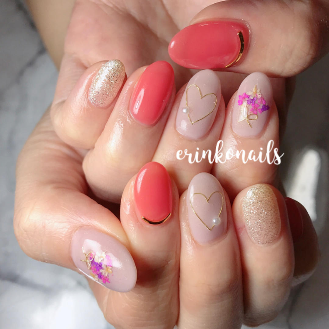 pretty spring nail art designs 17 - Pretty Spring Nail Art Designs 2019