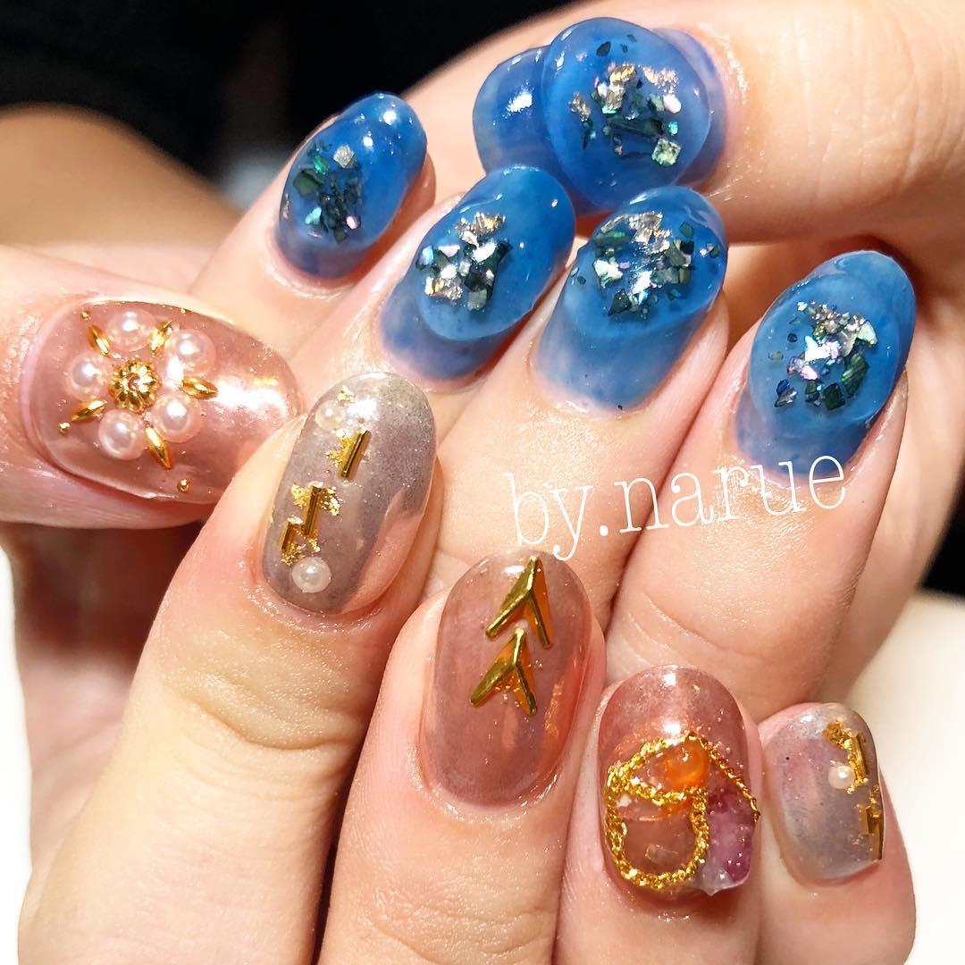 pretty spring nail art designs 19 - Pretty Spring Nail Art Designs 2019