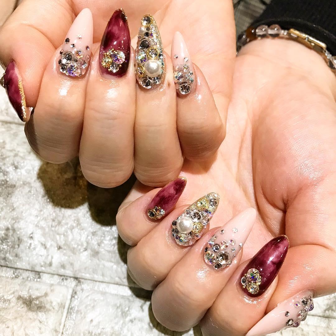 pretty spring nail art designs 20 - Pretty Spring Nail Art Designs 2019