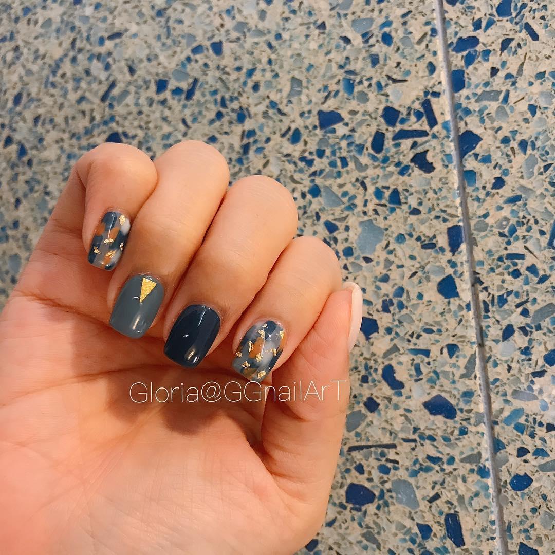 pretty spring nail art designs 23 - Pretty Spring Nail Art Designs 2019