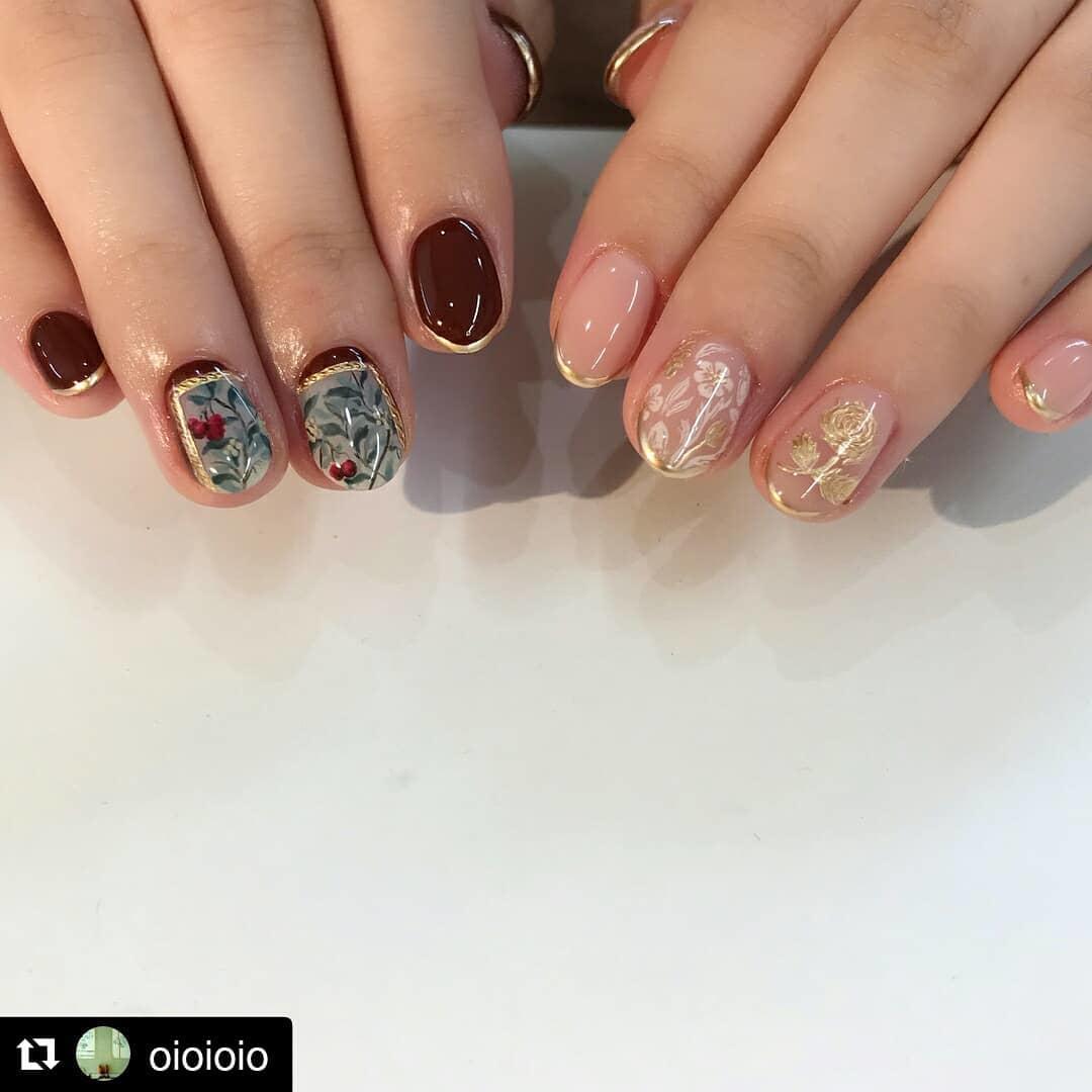 pretty spring nail art designs 5 - Pretty Spring Nail Art Designs 2019