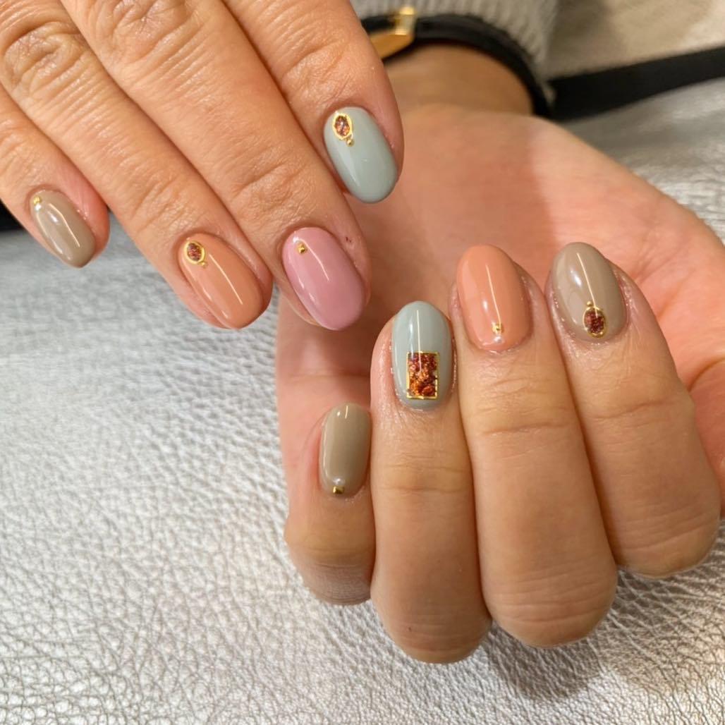 pretty spring nail art designs 6 - Pretty Spring Nail Art Designs 2019