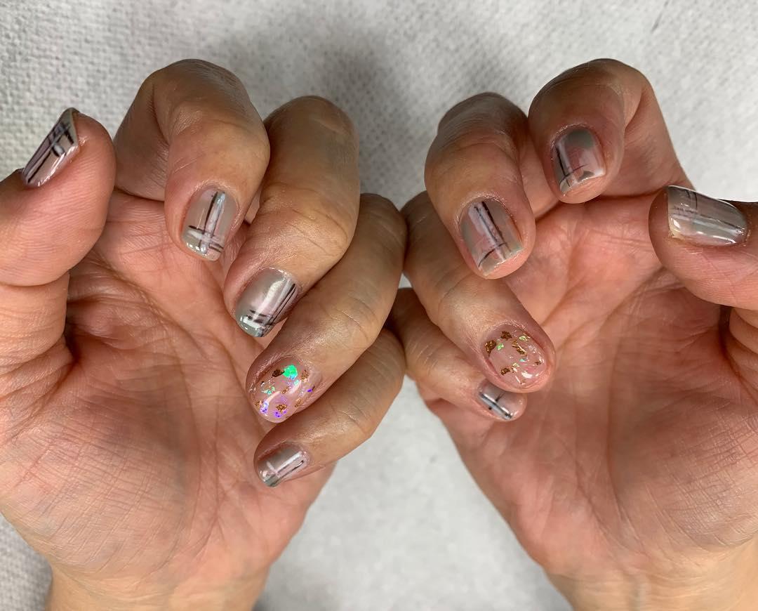 pretty spring nail art designs 7 - Pretty Spring Nail Art Designs 2019