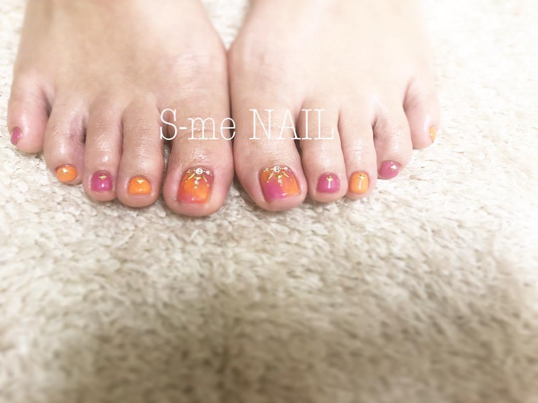 pretty toe nail design ideas 2019 9 - 15 Pretty Toe Nail Design Ideas 2019