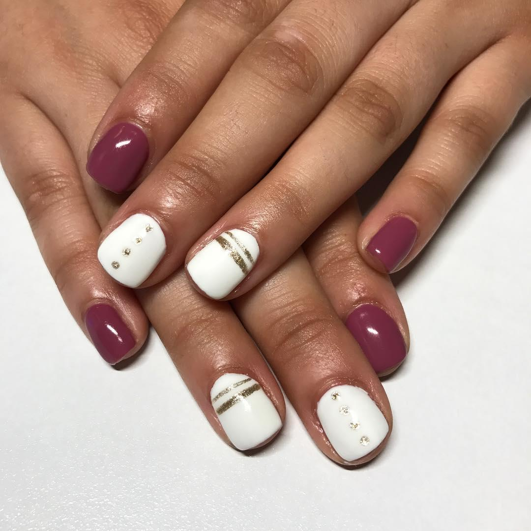 simple and easy nail art ideas 2019 12 - Simple And Easy Nail Art Ideas 2019