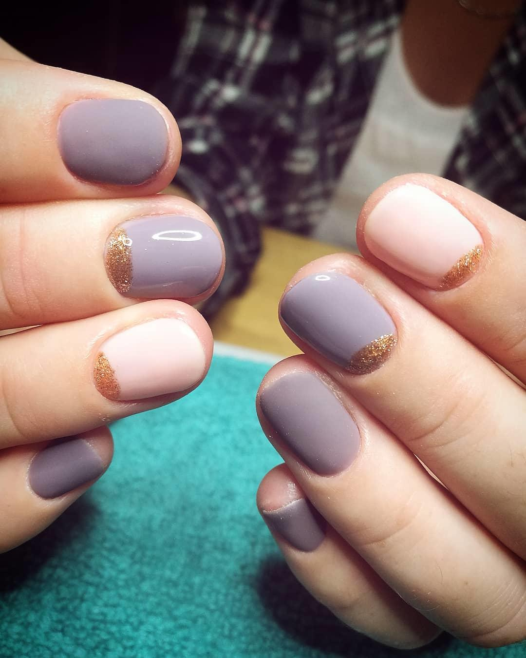 simple and easy nail art ideas 2019 15 - Simple And Easy Nail Art Ideas 2019