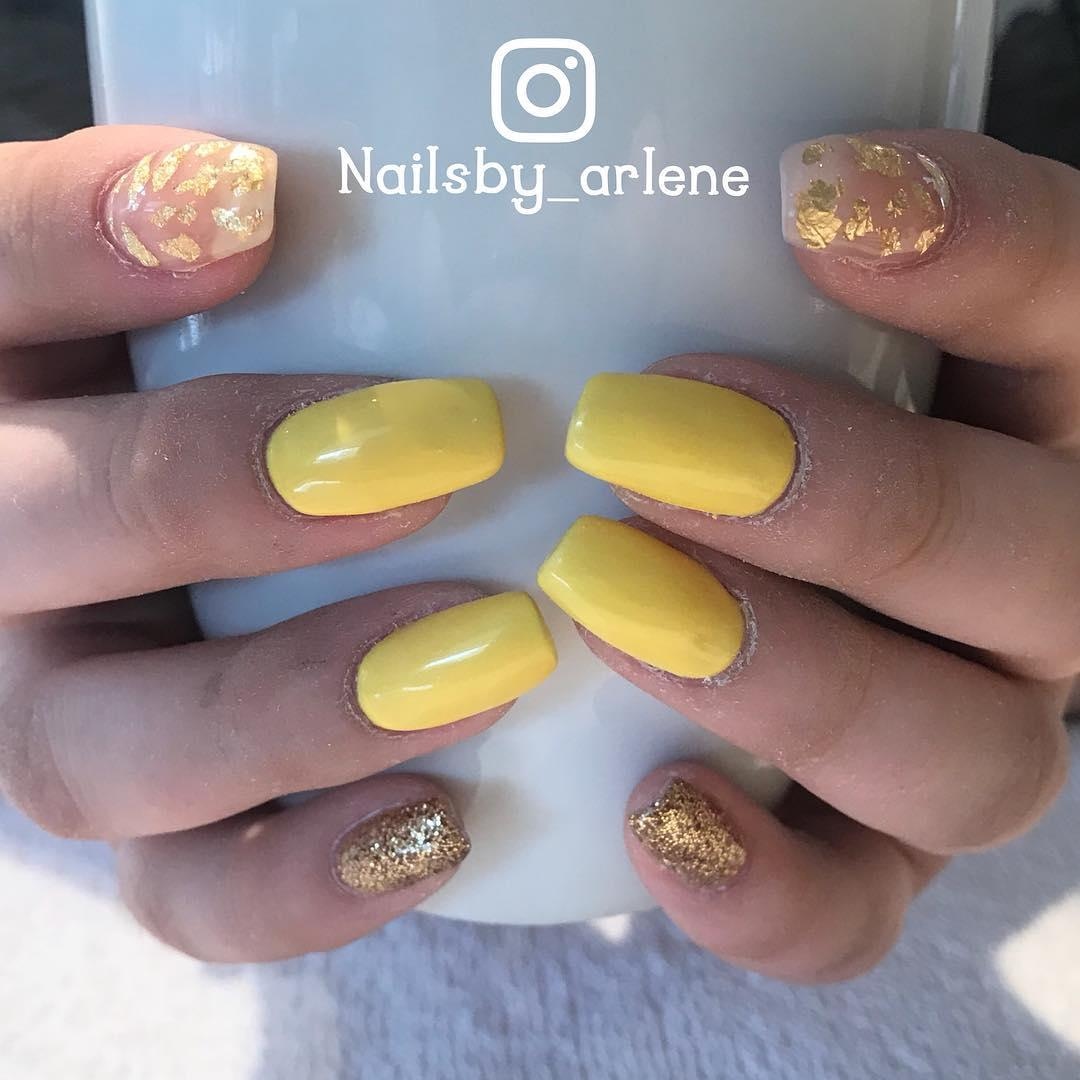 simple and easy nail art ideas 2019 17 - Simple And Easy Nail Art Ideas 2019