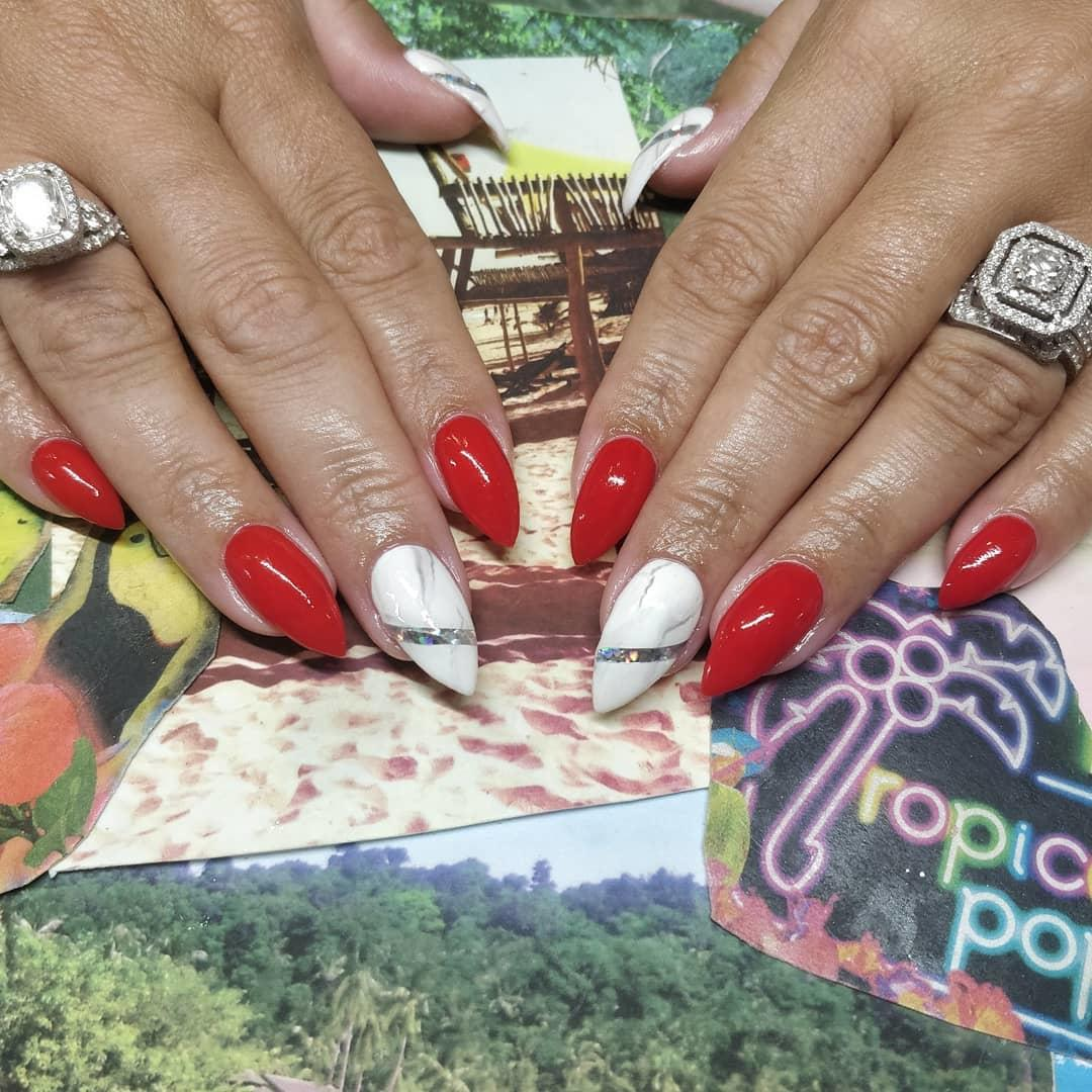 simple and easy nail art ideas 2019 23 - Simple And Easy Nail Art Ideas 2019
