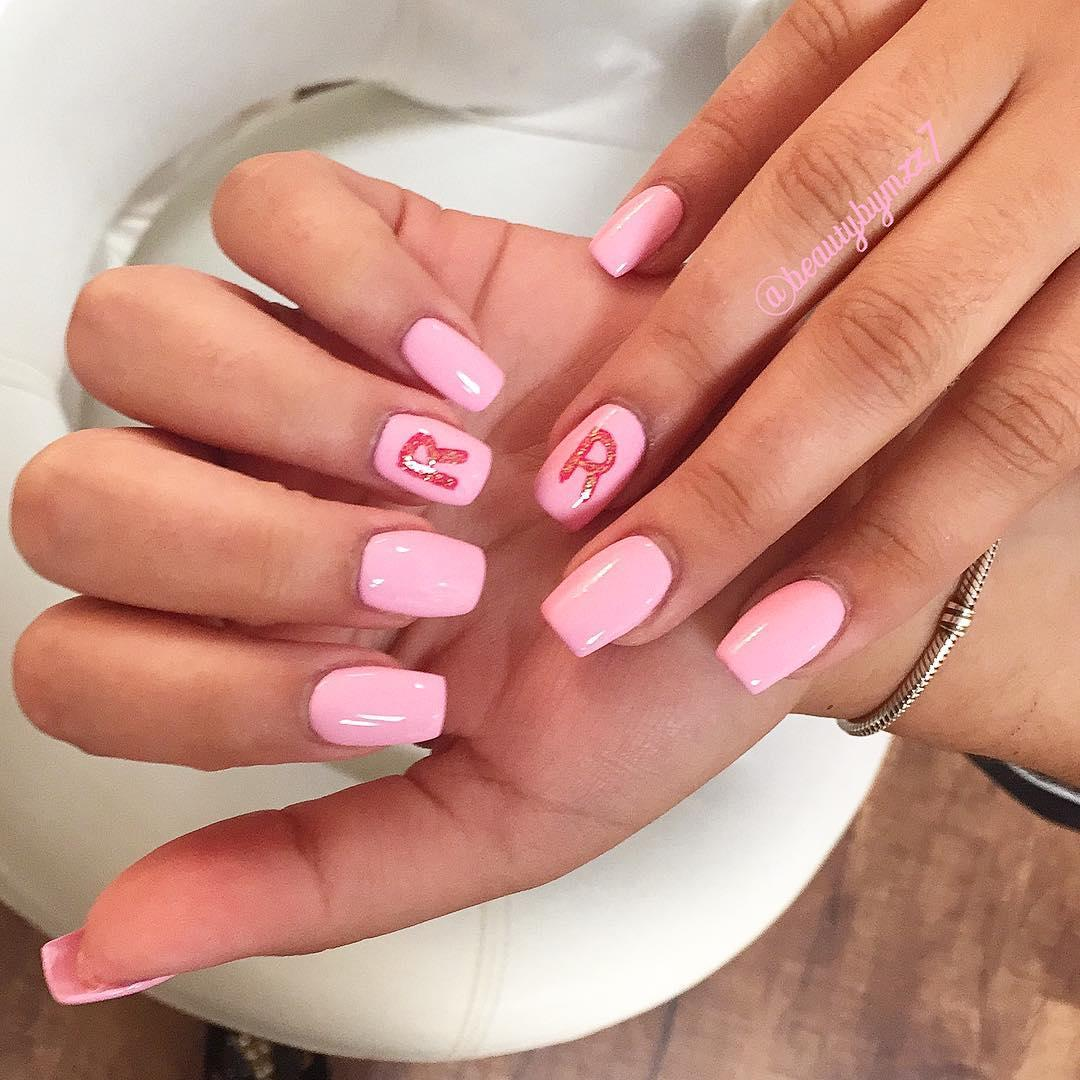 simple and easy nail art ideas 2019 7 - Simple And Easy Nail Art Ideas 2019