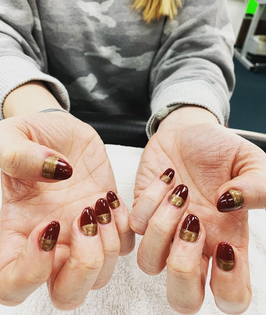 simple flower nail design ideas 2019 11 - 24 Simple Flower Nail Design Ideas 2019