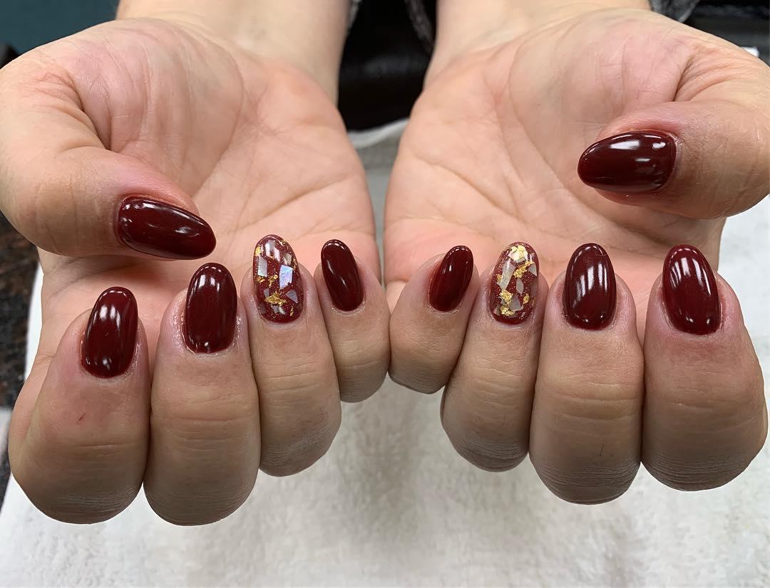 simple flower nail design ideas 2019 22 - 24 Simple Flower Nail Design Ideas 2019