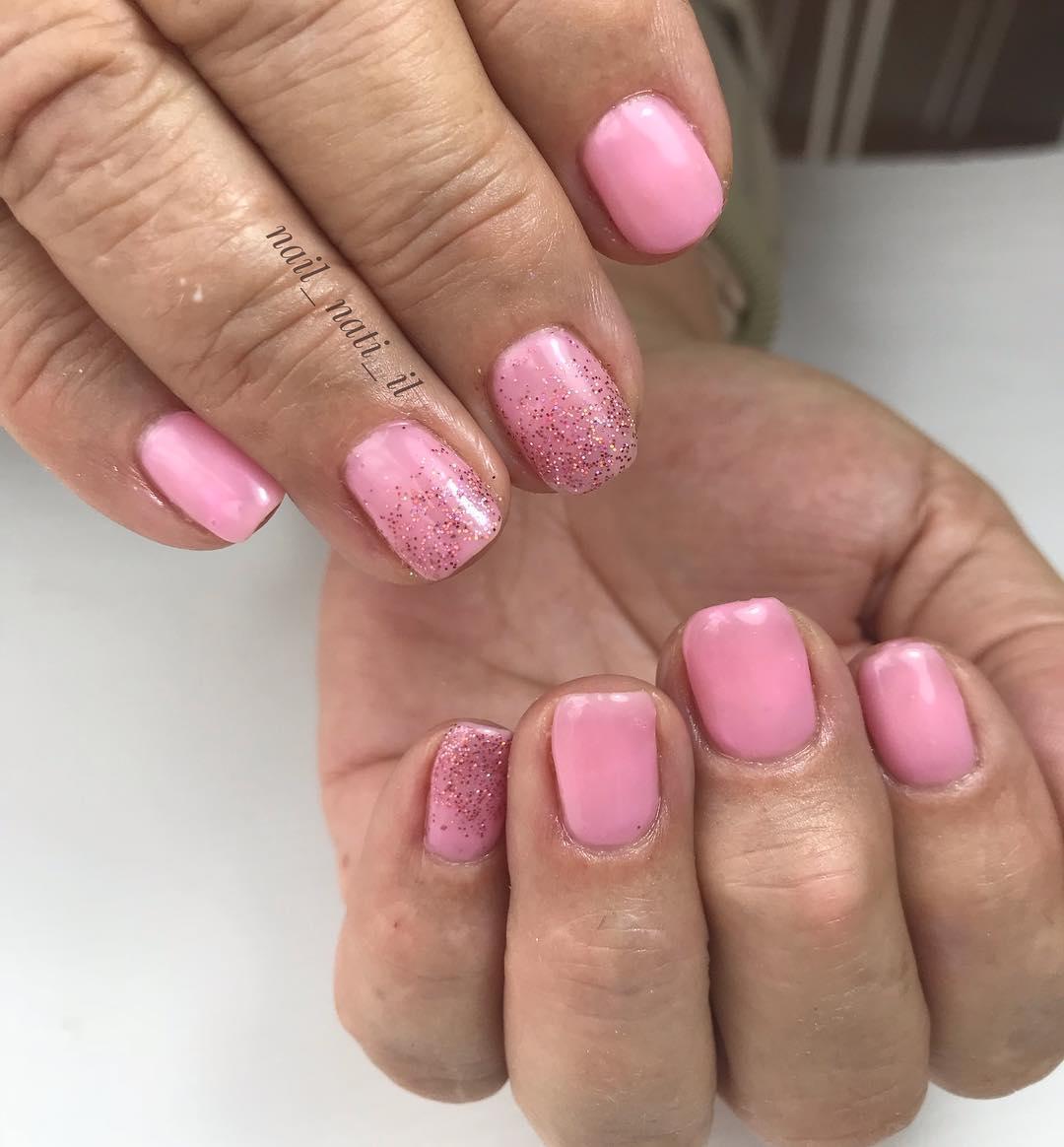 simple flower nail design ideas 2019 - 24 Simple Flower Nail Design Ideas 2019