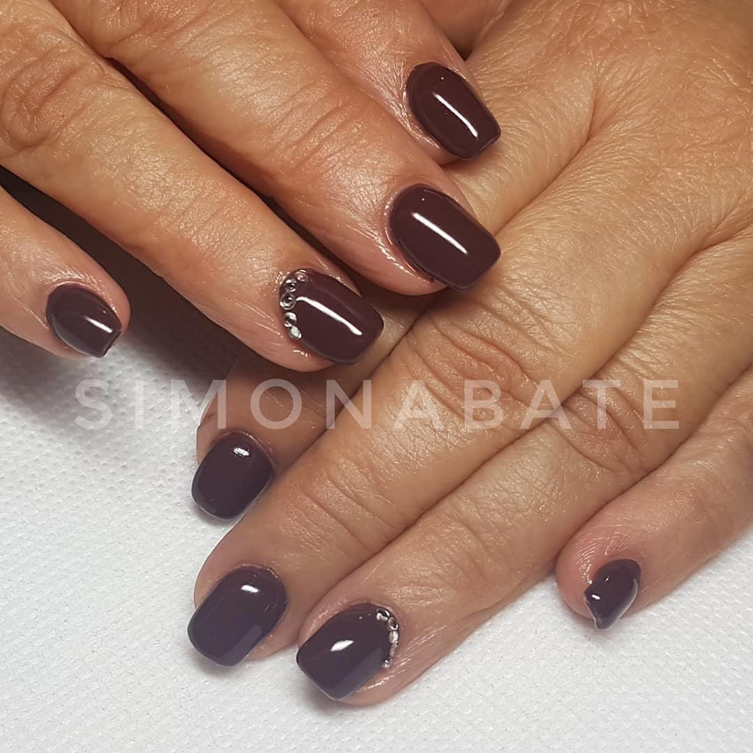 smashing glitter nail polish designs and ideas 2019 14 - Smashing Glitter Nail Polish Designs and Ideas 2019