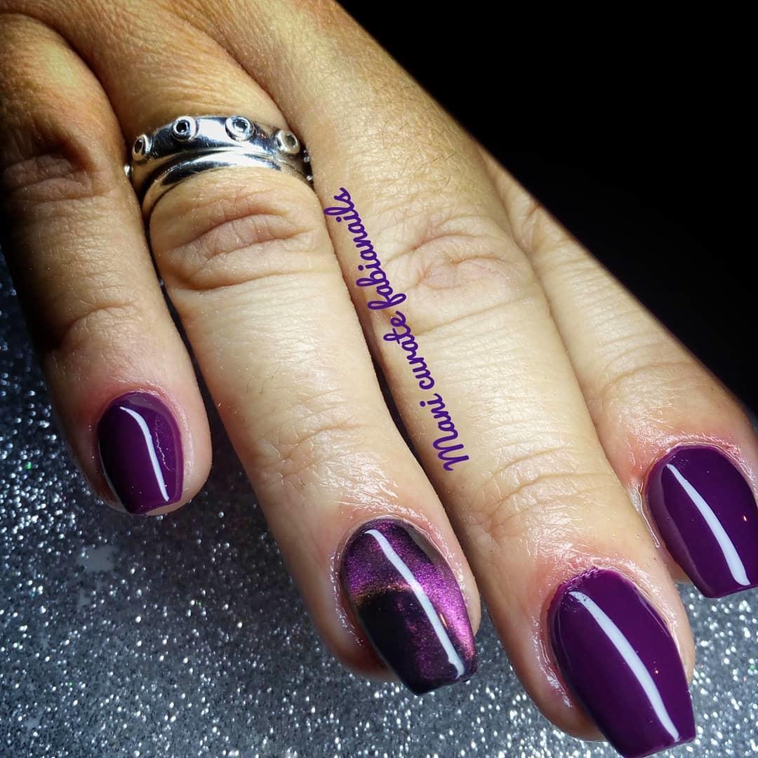 smashing glitter nail polish designs and ideas 2019 3 - Smashing Glitter Nail Polish Designs and Ideas 2019