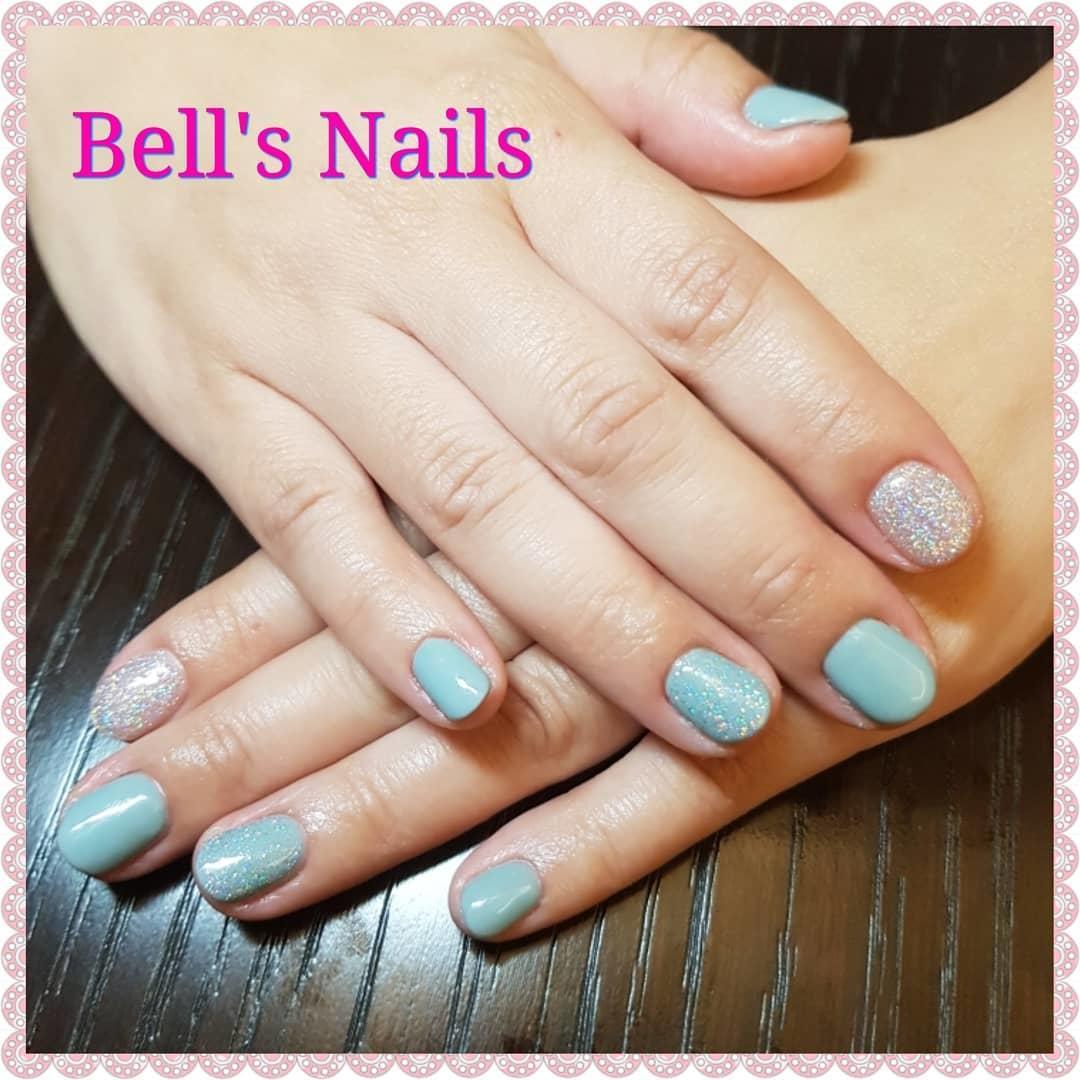 smashing glitter nail polish designs and ideas 2019 4 - Smashing Glitter Nail Polish Designs and Ideas 2019
