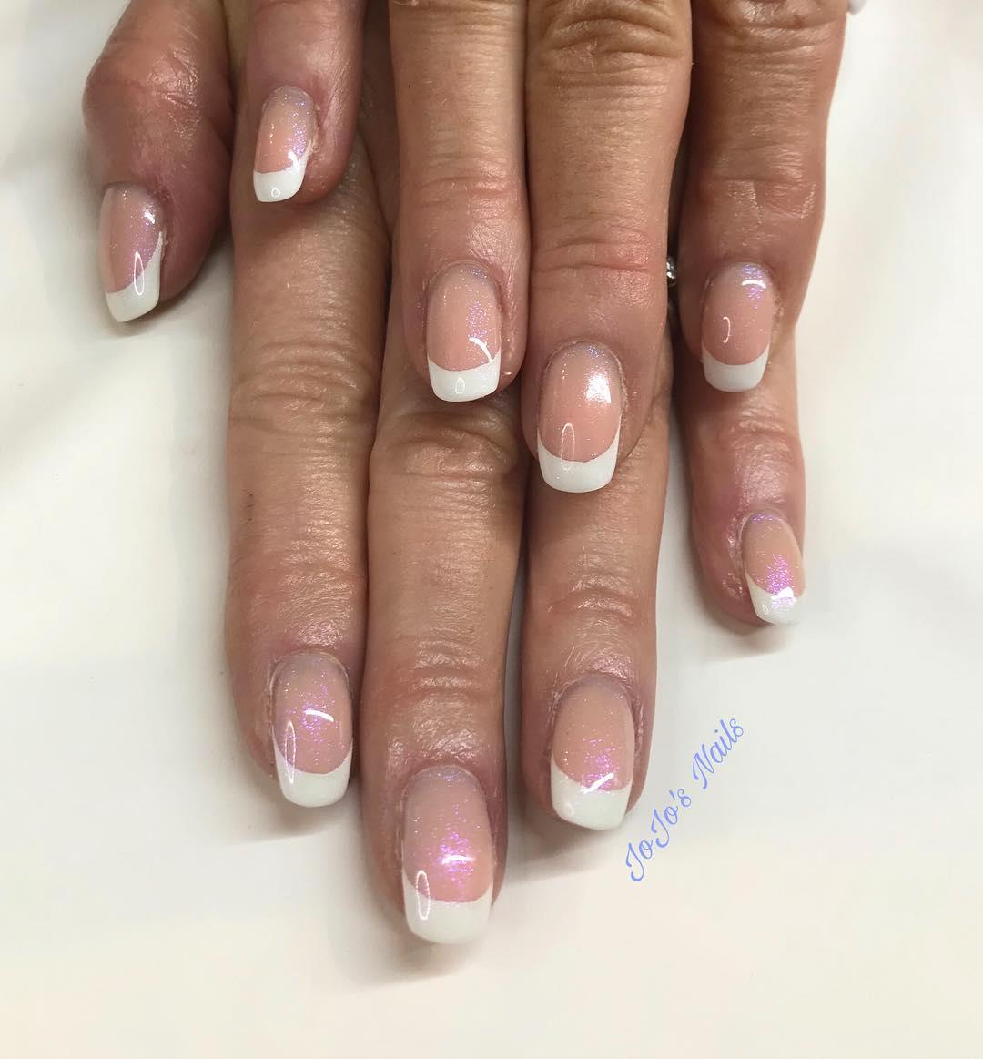 special french manicure nail designs 11 - 14 Special French Manicure Nail Designs