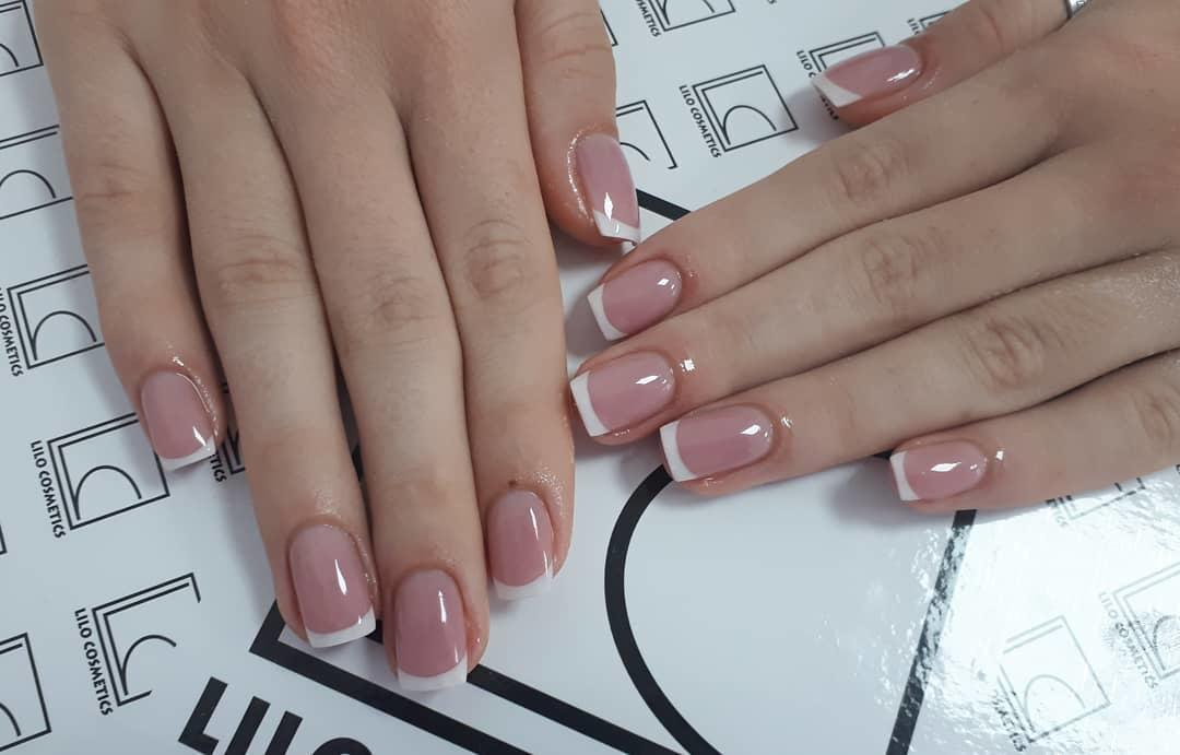 special french manicure nail designs 12 - 14 Special French Manicure Nail Designs