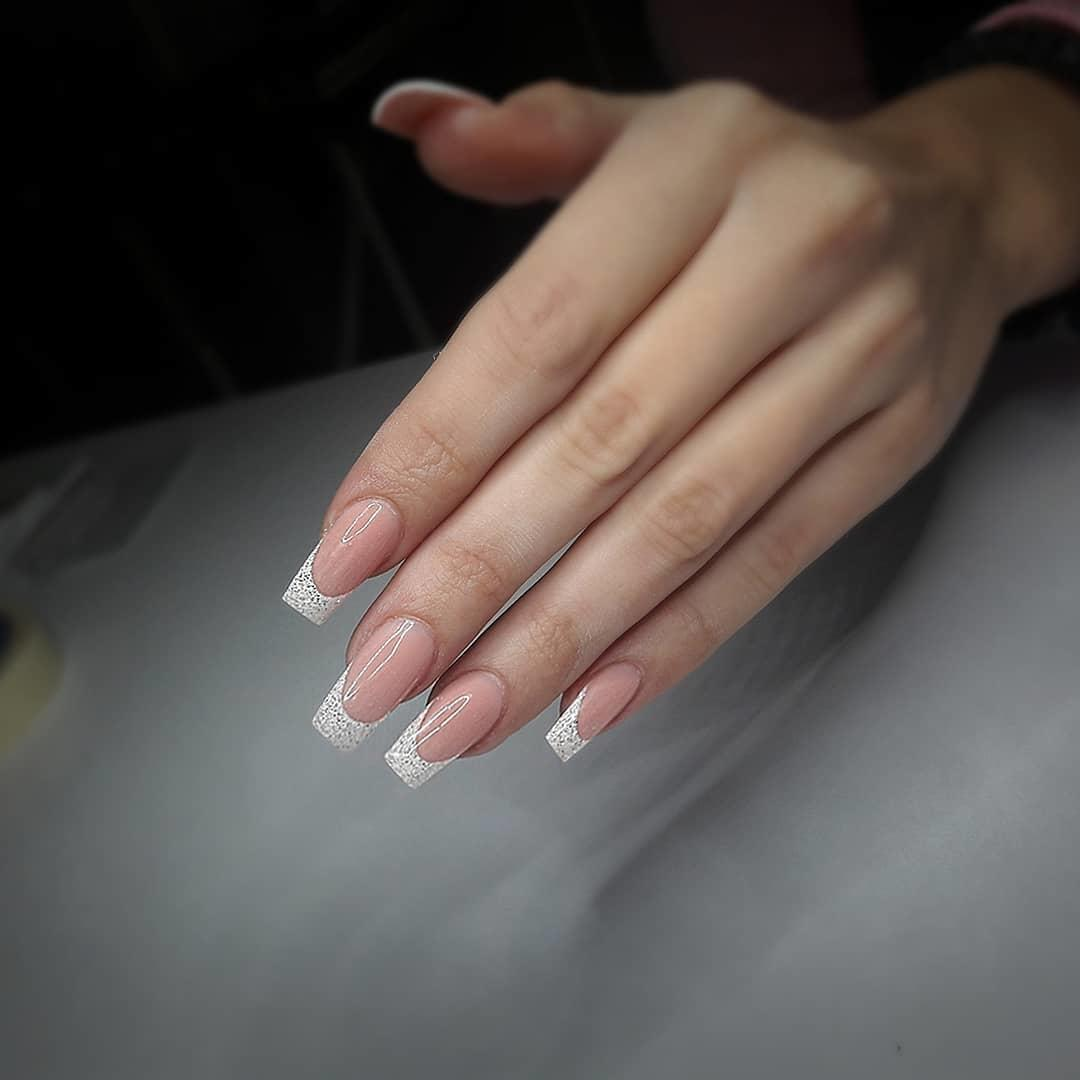 special french manicure nail designs 17 - 14 Special French Manicure Nail Designs