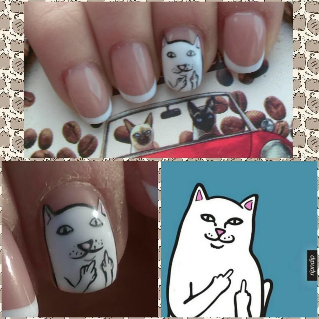 special french manicure nail designs 4 - 14 Special French Manicure Nail Designs