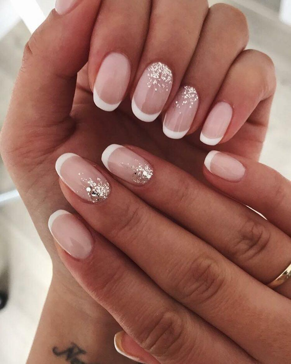 special french manicure nail designs 9 - 14 Special French Manicure Nail Designs