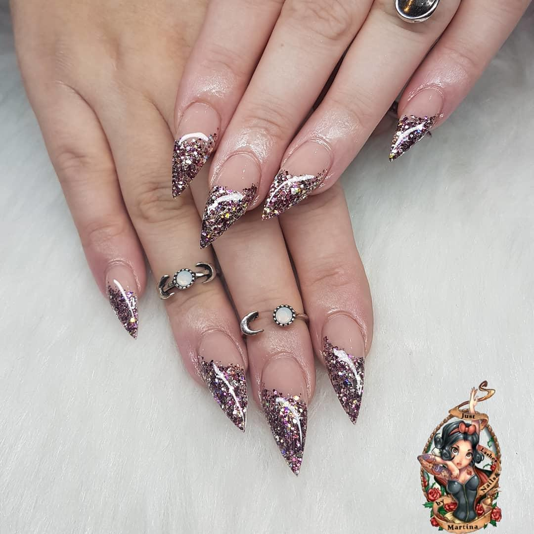 stylish acrylic nail design ideas 2019 1 - Stylish Acrylic Nail Design Ideas 2019
