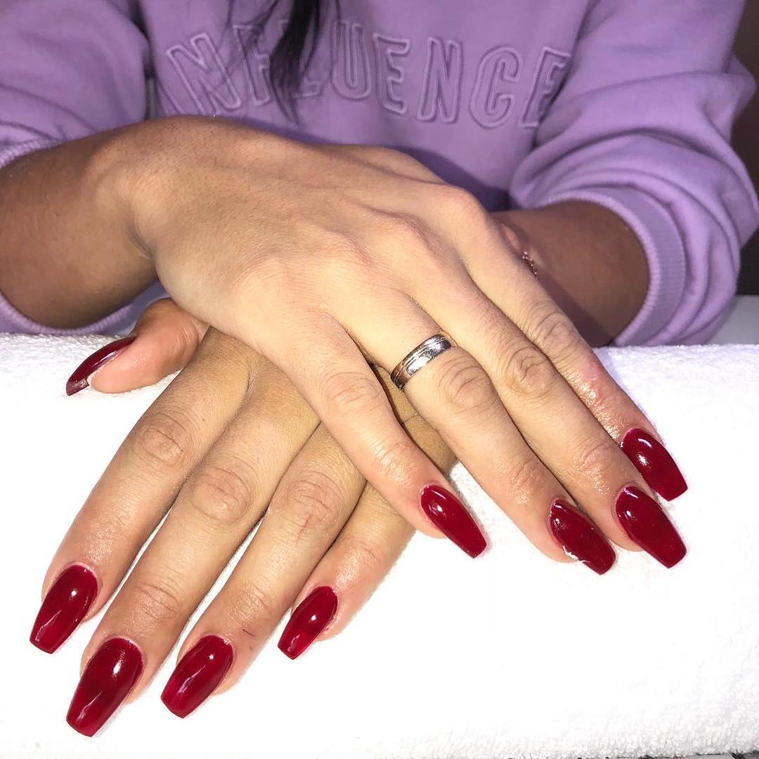 stylish acrylic nail design ideas 2019 11 - Stylish Acrylic Nail Design Ideas 2019